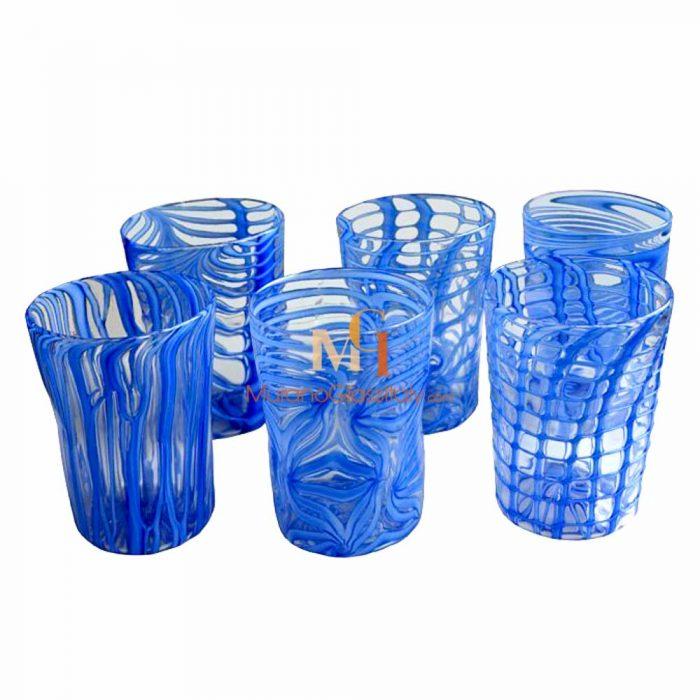 穆拉诺彩绘水杯