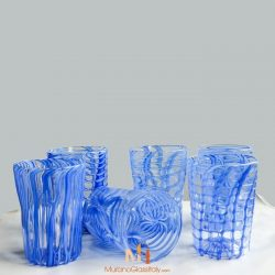 murano glass cups