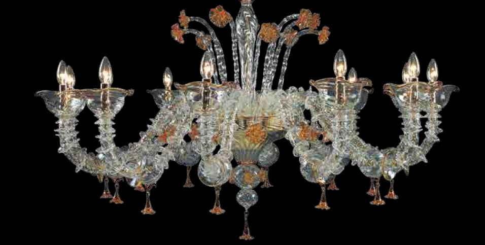 italian chandelier style