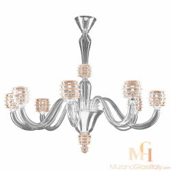 murano venetian style chandelier
