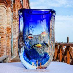 vase aquarium murano