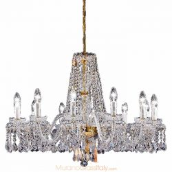 murano style chandelier Cenedese