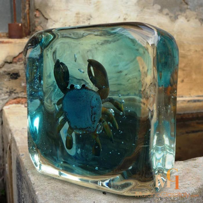 Crab Murano Aquarium Buy Online Official Murano Glass Shop