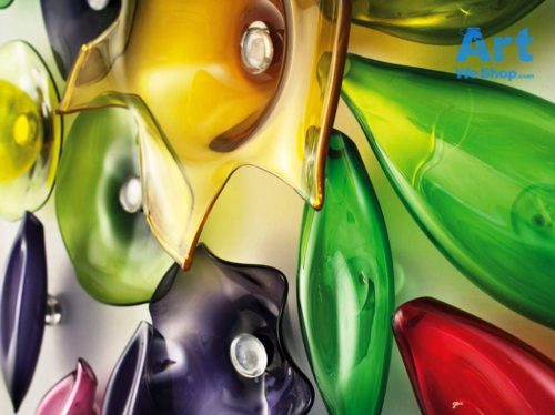 murano glass wall art