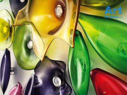 murano glass wall art