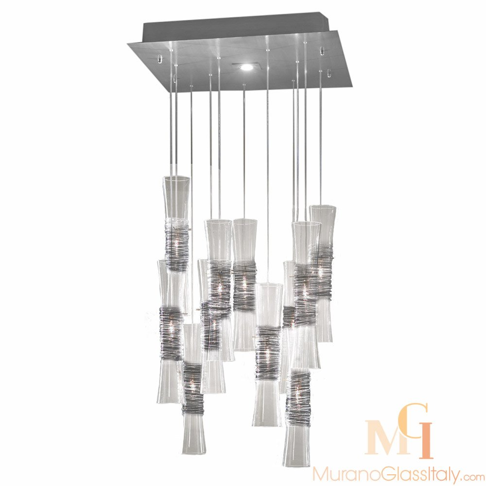 murano glass pendant lights