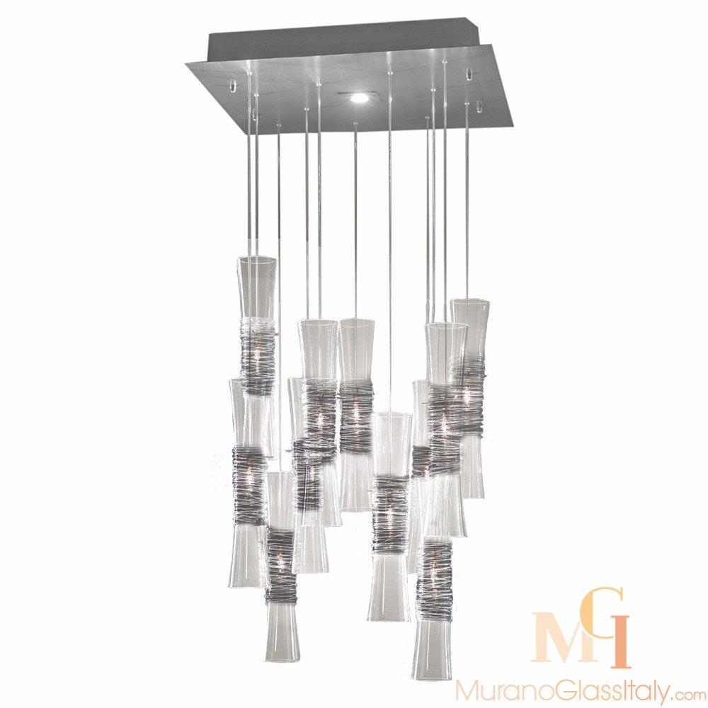 suspension luminaire murano