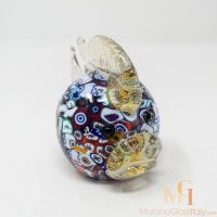 murano glass gold