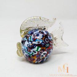 murano glass gold
