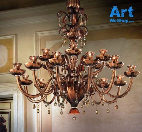 King Chandelier front