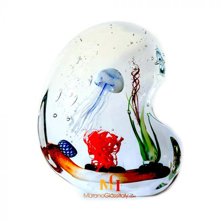 jellyfish glass sculpture