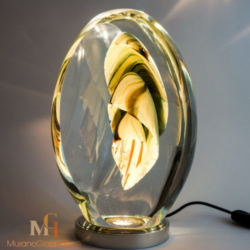 art glass lighting