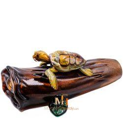Glass Turtle Sculpture