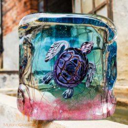 Glas Schildkröte