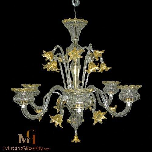 lustre baroque cristal