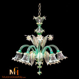 italian glass lighting