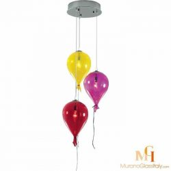 colored glass pendant lights