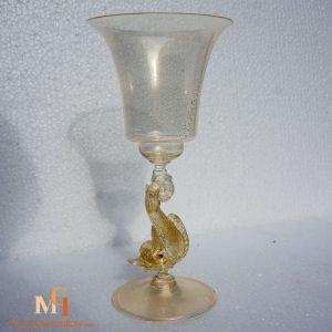 Delfino - Murano Glass Goblets
