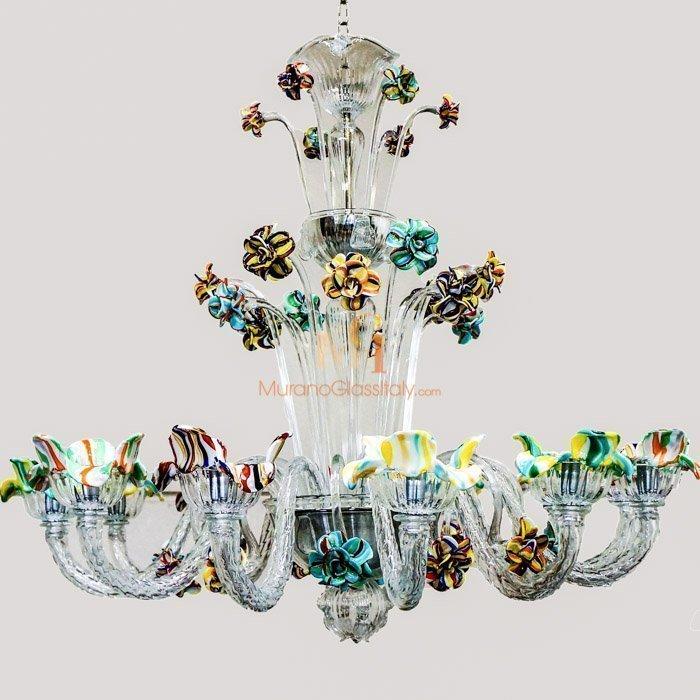 Luxury Venetian Crystal Glass Chandelier