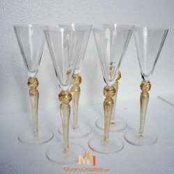 coupes champagne murano