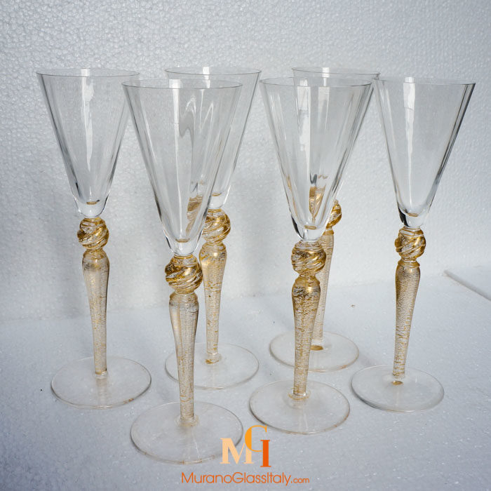 威尼斯玻璃酒杯