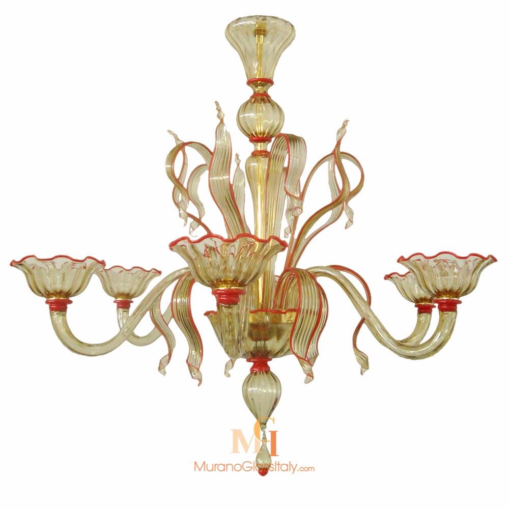 italian murano glass chandeliers