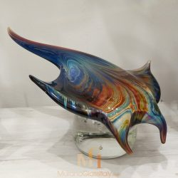 sculpture poisson murano