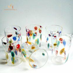 威尼斯彩色玻璃杯组