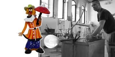 Murano Glass Clown - Buy Online | OFFICIAL MURANO GLASS STORE