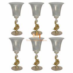 威尼斯玻璃水晶杯