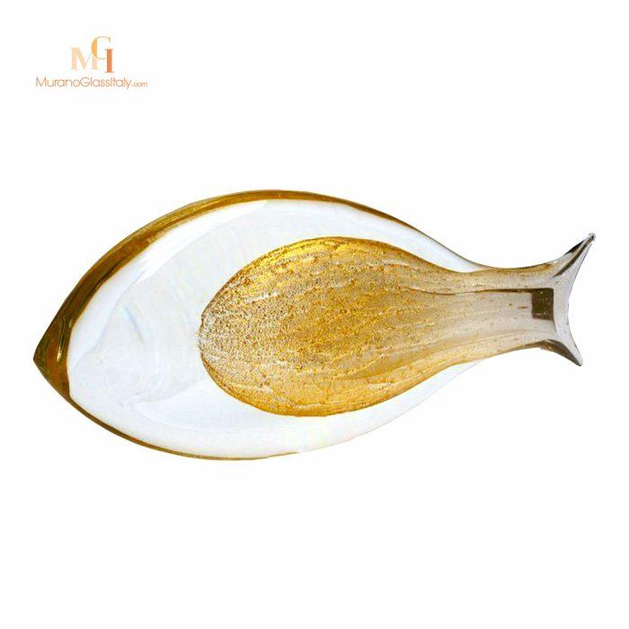 ديكور الزجاج على شكل سمكة