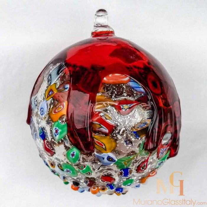 Murano Christmas Ornaments