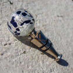 murano glass wine stopper wedding favors