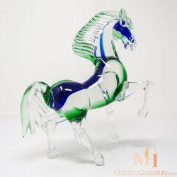 glasfigur pferd
