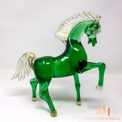 Glass Horse Statue