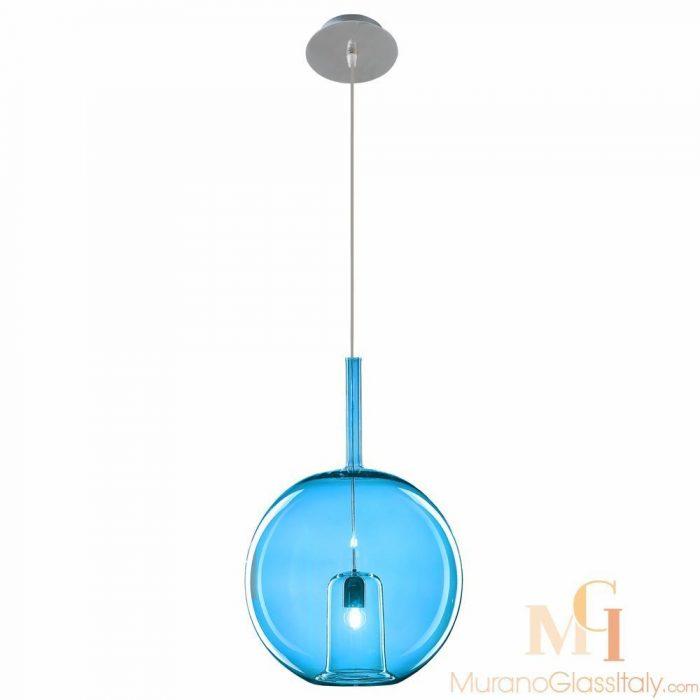 italian glass pendant lights