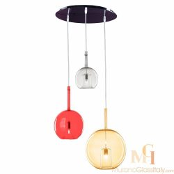 italian glass pendant lighting