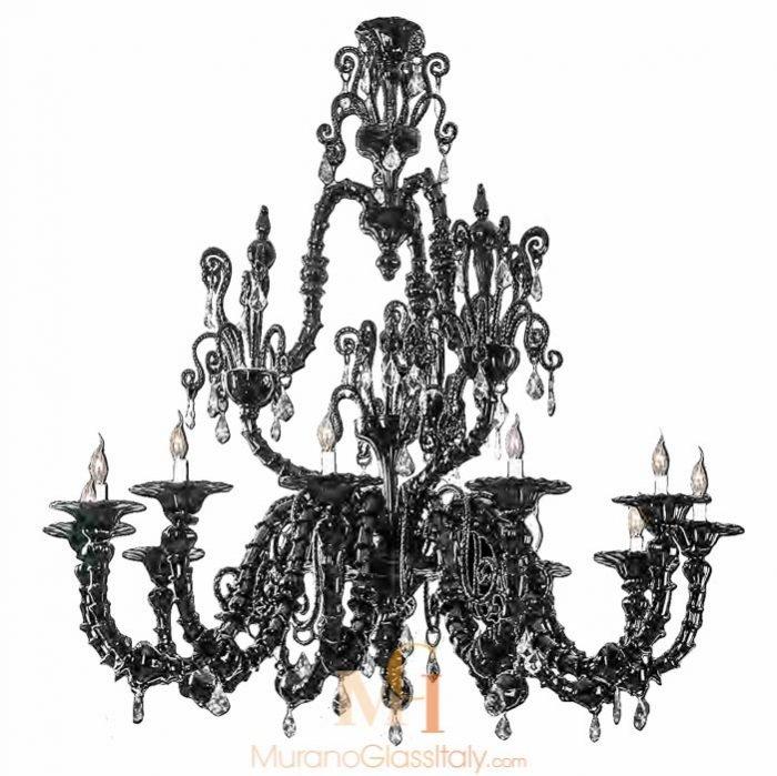 modern murano glass chandelier