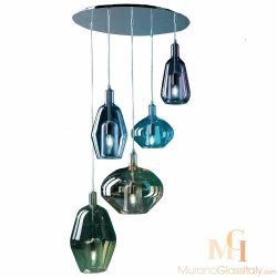 art glass pendant lights