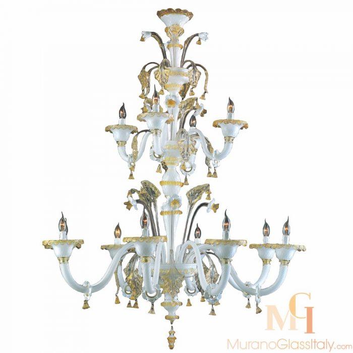 large murano glass chandelier