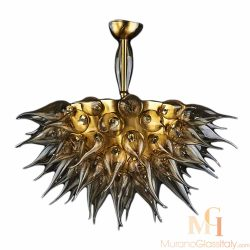 italian starburst chandelier