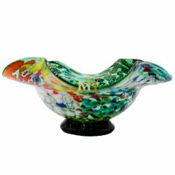 murano glass dish