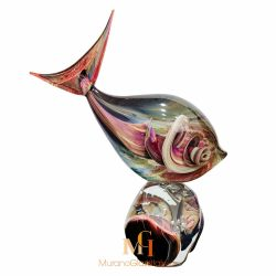 murano glass fish figurines