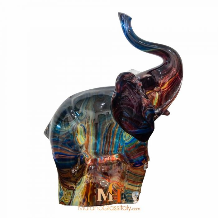 elephant en verre