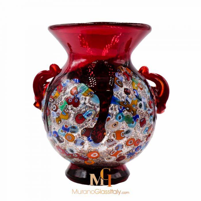 murano vase rot