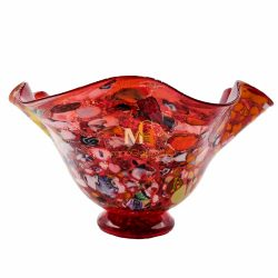 murano glass bowls centerpiece