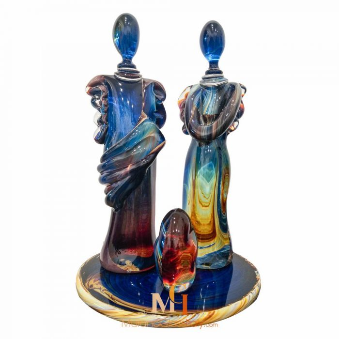 statuette cristal