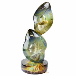 sculpture en verre design