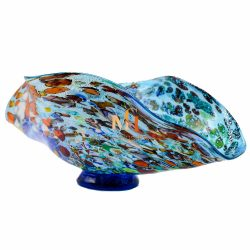 Blue Murano Glass Bowl
