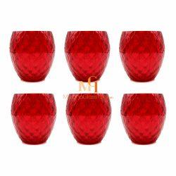 verre couleur rouge